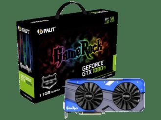 PALIT GeForce GTX 1080 Ti GameRock Premium, 11GB GDDR5X bei MediaMarkt für 727.- CHF