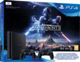 Playstation 4 Slim 1TB + SW Battlefront II + 2 DS4 Controller