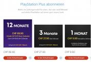 18 CHF Store-Guthaben bei Plus & Now Abo-Abschluss im Playstation Store