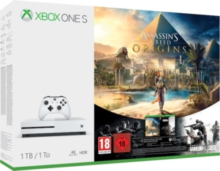 Microsoft Xbox One S, 1.0TB mit Assassin's Creed bei digitec