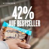 MyProtein: 42% Rabatt auf Bestseller