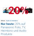 20% Rabatt auf Panasonic TVs