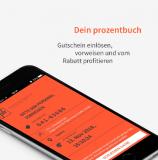 prozentbuch-App 2018/19 über QoQa für 35.- / 39.- CHF