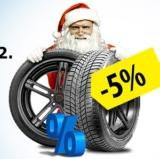 5% auf Pkw-Reifen und Kompletträder bei ReifenDirekt, z.B. Continental WinterContact TS 860 195/65 R15 91T für CHF 66.69 statt CHF 70.20