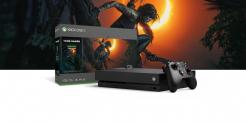 Xbox One X 1.0 TB inkl. FIFA 19 und Shadow of the Tomb Raider im Microsoft Store