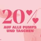20% auf fast alle Pumps und Taschen bei Ochsner Shoes, z.B. Guess Huele Peeptoes für CHF 119.90 statt CHF 149.-