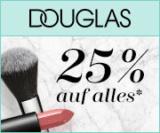 Nur heute: 25% Rabatt auf alles und Gratisversand bei Douglas