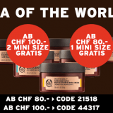 Spa of the World-Minis ab einem Bestellwert von CHF 80.- gratis bei The Body Shop