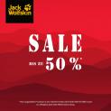 Bis zu 50% Sale bei Jack Wolfskin!