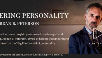 50% Rabatt auf Kurs von Dr. Jordan B. Peterson