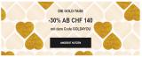 Sarenza: 30% Rabatt ab CHF 140.- oder CHF 25.- Newsletter Gutschein ab CHF 115.-