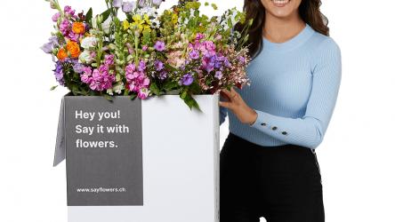 SayFlowers: 11% Rabatt auf Blumenstrauss (inkl. Versand)