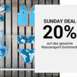 Nur heute: 20% auf alles zum Wassersport bei Ochsner Sport, z.B. WATT SUP Stand Up Paddle für CHF 319.20 statt CHF 489.-