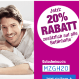 20% zusätzlicher Rabatt auf alle Bettinhalte bei Angela Bruderer, z.B. Duvet Sana Med Noblesse für CHF 79.95 statt CHF 99.95
