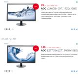 Ausgewählte Monitore von Philips und AOC bei digitec stark reduziert, z.B. AOC E2770SH für CHF 149.- statt CHF 199.-