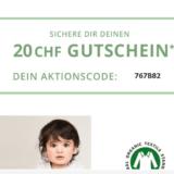 CHF 20.- Gutschein bei babywalz (ab CHF 79.- Bestellwert)