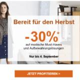30% auf Mode und Aufbewahrungslösungen bei La Redoute, z.B. 2-türiger Kleiderschrank für CHF 622.30 statt CHF 889.-