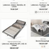 15% auf Schlafzimmermöbel und Heimtextilien bei Ideas for Home, z.B. Breckle Boxspringbett für CHF 636.65 statt CHF 749.-