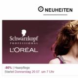 Bis zu 80% Rabatt auf Produkte von L'Oréal und Schwarzkopf bei eboutic.ch