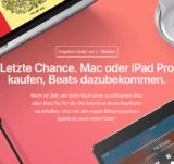 Kabellose Beats Kopfhörer gratis zu Mac oder iPad Pro bei Apple