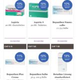 Viele Produkte stark reduziert im Sommer-Schluss-Verkauf bei Zur Rose, z.B. Melectis Schutzbalsam für CHF 11.90 statt CHF 17.90