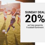 Nur heute: 20% auf das gesamte Fussball-Sortiment bei Ochsner Sport, z.B. Polen Home Herren Trikot für CHF 75.90 statt CHF 94.90