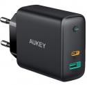 AUKEY USB C Ladegerät 60W mit Power Delivery (PD) für CHF 33.20.- dank 30% Coupon, 10% Aktion und Free Shipping