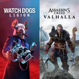 XBOX DEAL – Assassin's Creed® Valhalla + Watch Dogs®: Legion Bundle für CHF 36.26.-