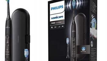 Philips Sonicare ExpertClean 7300 für neuen Bestpreis und passende Sonicare Ersatzbürsten 4 Stück