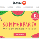 18% auf alles bei home24