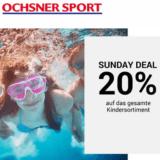 Nur heute: 20% auf das gesamte Kindersortiment bei Ochsner Sport, z.B. Nike Dry Academy Football Kinder T-Shirt