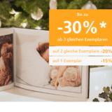 Bis zu 30% auf alle Fotoprodukte bei ifolor, z.B. Fotobuch Premium Fotopapier ab CHF 27.95 statt CHF 39.95