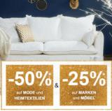 """50% auf Mode und Heimtextilien und 25% auf Marken und Möbel bei La Redoute, z.B. Bettbezug """"Doux Hiver"""" für CHF 22.50 statt CHF 44.90"""