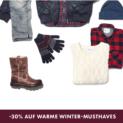 30% auf Winter-Must-Haves bei WE Fashion, z.B. Herren-Navy-Parka für CHF 160.97 statt CHF 229.95