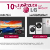 """Nur heute: 10% auf alles von LG bei Conforama, z.B.  4K OLED-FERNSEHER LG 140 cm (55"""") 55EG9A7 für CHF 1259.10 statt CHF 1999.-"""