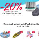 20% auf Produkte von Jilong und Hudora bei siroop