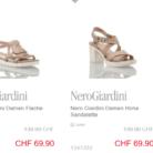 Nur heute: 50% auf ausgewählte Nero Giardini Schuhe bei Ochsner Shoes