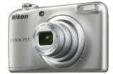 NIKON Coolpix A10 – Kompaktkamera (Fotoauflösung: 16.1 MP) Silber bei MediaMarkt