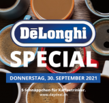 De'Longhi-Special bei DayDeal.ch