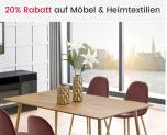 20% Rabatt auf Möbel und Heimtextilien bei Ackermann (bis 16.08.)