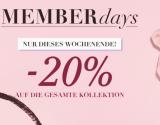 Nur heute:  20% Rabatt auf alles und Gratisversand bei Hunkemöller