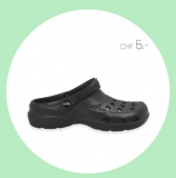 """Crocs""-Klon bei Vögele Shoes für CHF 5.- (nur heute)"