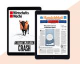 ePaper Handelsblatt und Wirtschaftswoche 12 Monate lang gratis