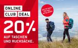 Ochsner Sport: 20% auf Taschen und Rucksäcke (ohne reduzierte Artikel)