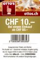 Neuer Ottos Gutschein – 10.- ab MBW 60.-