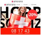 Amorana: 20% auf ALLES – nur heute gültig!