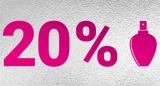 20% Rabatt auf alle Düfte bei der Import Parfumerie