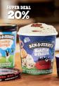 20% auf Ben & Jerry's im Coop