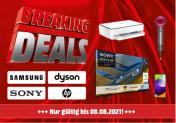 Breaking Deals bei Media Markt: Rabatte auf Samsung, Dyson, Sony & HP (bis 08.08.)