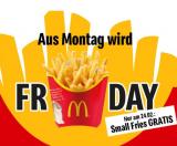 Gratis Small Fries bei McDonalds